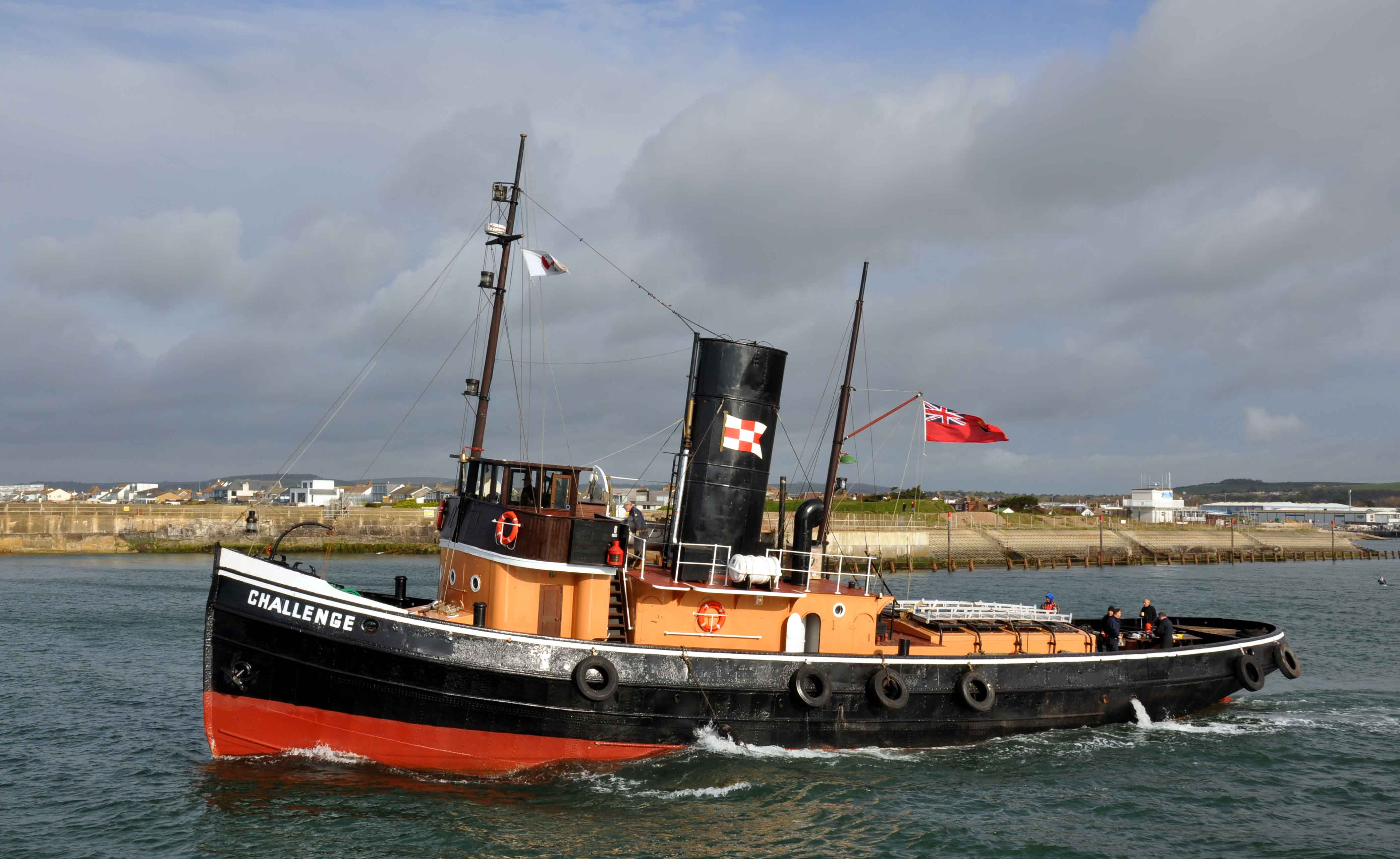 Steam Tug Boat Goes Better than Ever With a New Boiler   Byworths