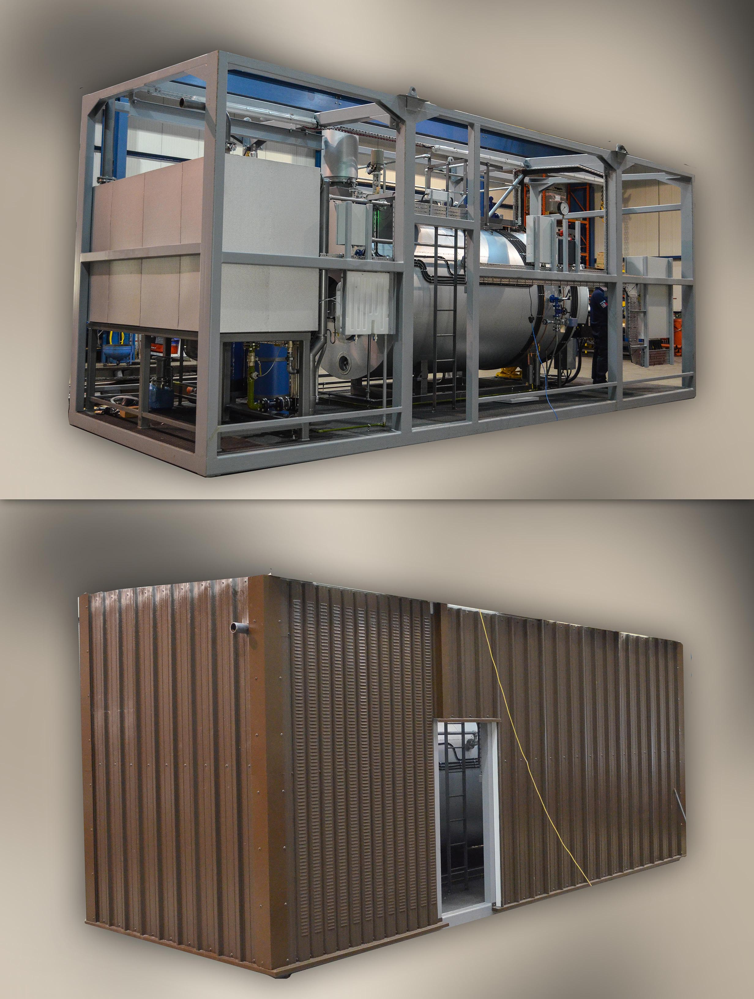 containerised boiler house