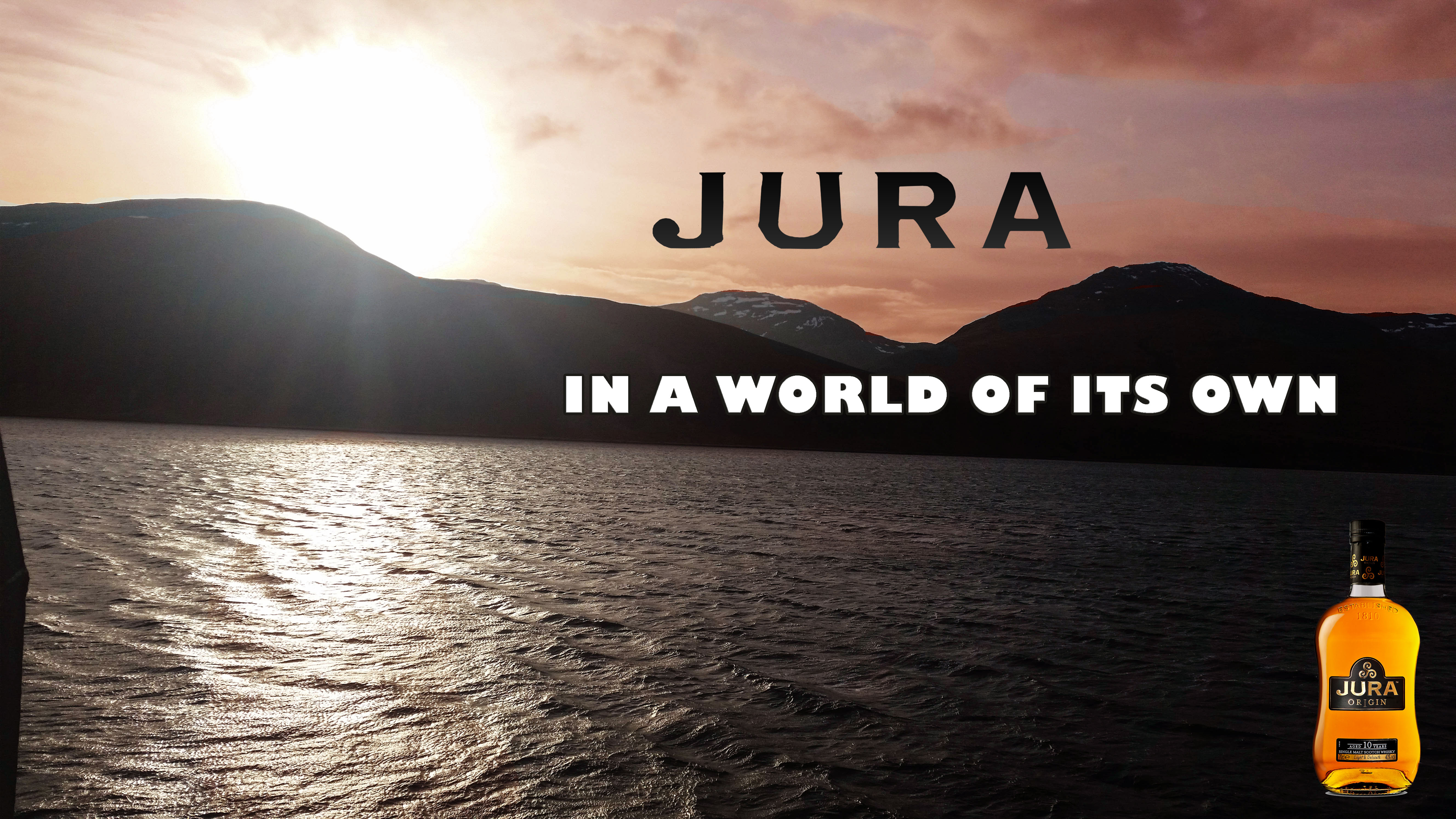 Jura Whisky uses steam in the distilling process