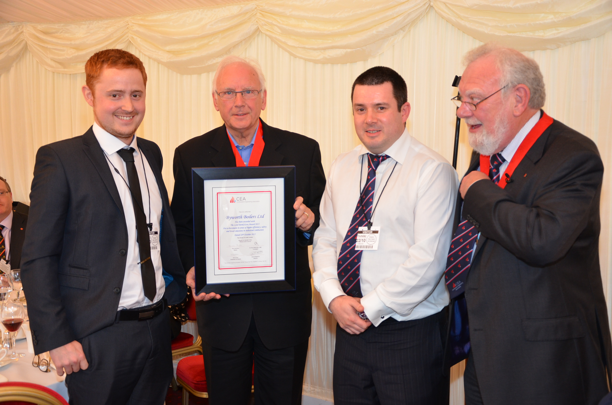 Byworth wins award at the House of Lords