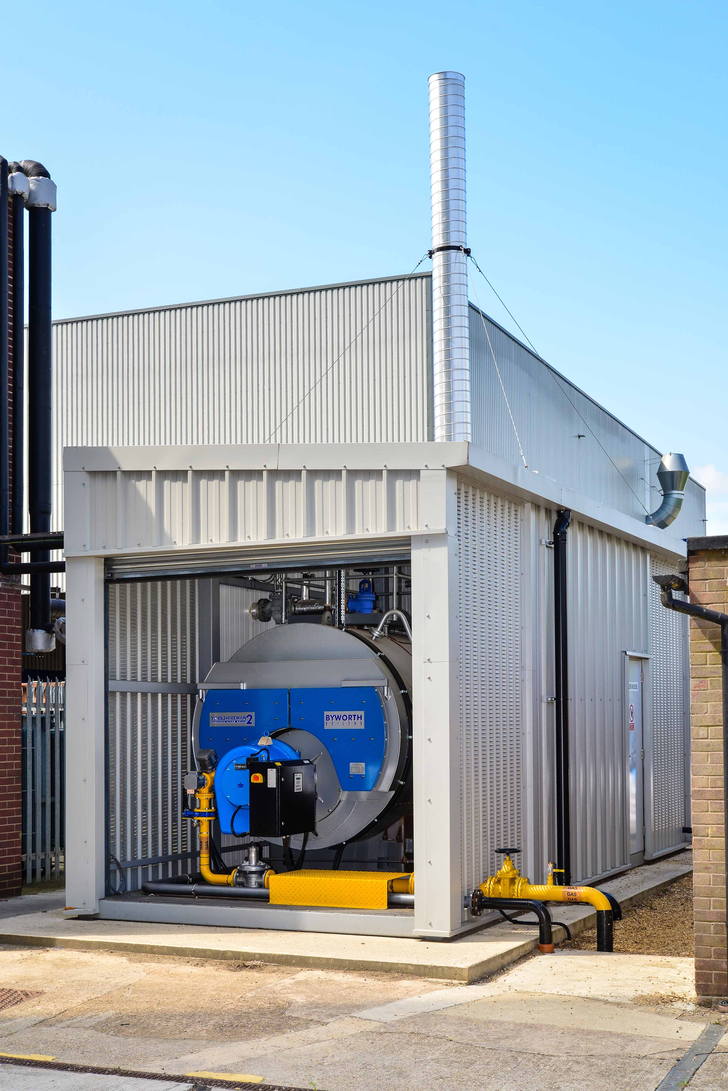 Long Term Boiler Hire Pays Dividends For Feed Mill - Byworth