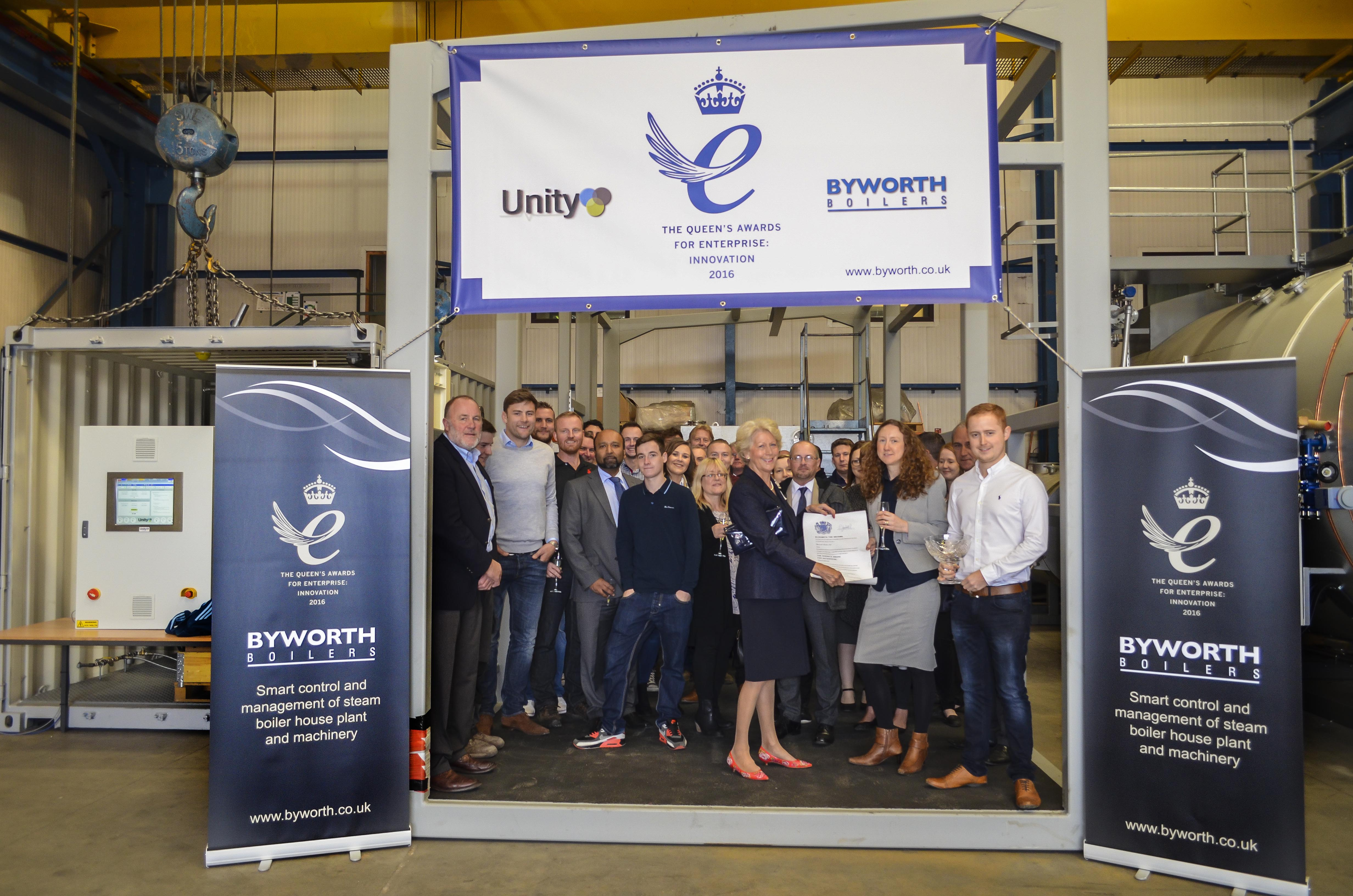 Byworth Boilers Queen's Award