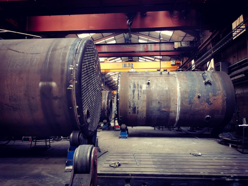 how a steam boiler is made