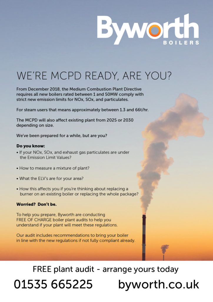 Medium Combustion Plant Directive - MCPD