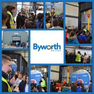 Byworth Boilers give back to their local community with introducing school kids to industry
